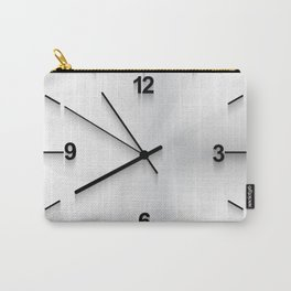 Wall clock background Carry-All Pouch