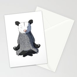 Opossum Meditated Stationery Cards