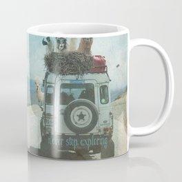 EXPLORING WITH LAMA Coffee Mug
