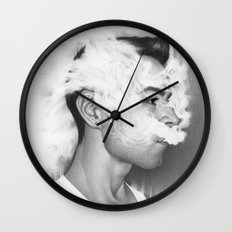 A Perfect Nothing Wall Clock
