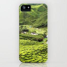Cameron Highlands Tea Plantation Malaysia iPhone Case