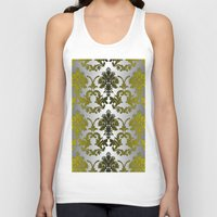 baroque Tank Tops featuring Baroque Contempo by TEZ Living Style