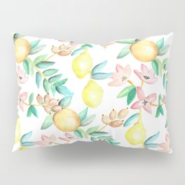 Flowers and Fruits Pillow Sham