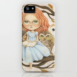 Autumn Tales iPhone Case