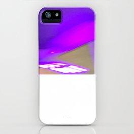 Electro Purple Jesus iPhone Case