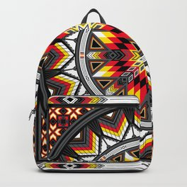 Sacred Places Red Backpack