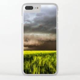 Inflow - Incredible Storm in Southwest Oklahoma Clear iPhone Case