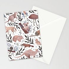 Animals of Australia Field Guide Stationery Cards