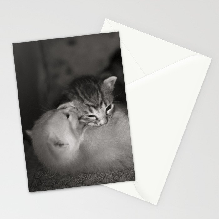 2 Weeks Old Stationery Cards