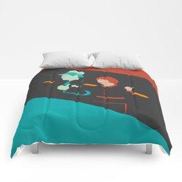 It happened one night Comforters