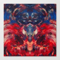 Omen art Canvas Print