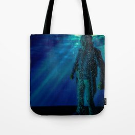 Only way to kill Jason is to send him back to his original resting place where he drowned in 1957... Tote Bag
