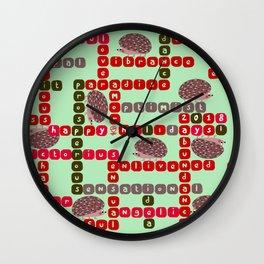 Happy Holidays! 2018 Wall Clock