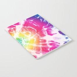 Tie-Dye Sunburst Rainbow Notebook