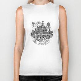 Floating city Biker Tank