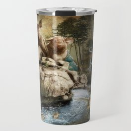 """Hog Wild"" Travel Mug"
