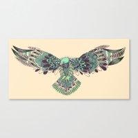 hawk Canvas Prints featuring Hawk by Diana
