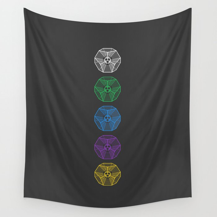 Engrams Wall Tapestry
