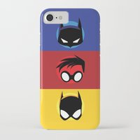 heroes iPhone & iPod Cases featuring Heroes by gallant designs