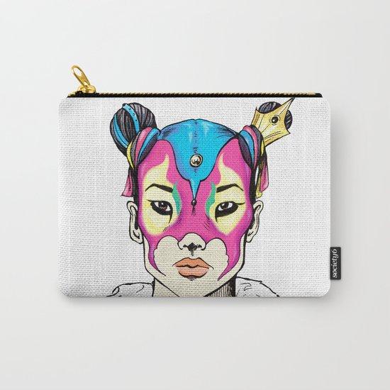 Asian Superheroine Carry-All Pouch