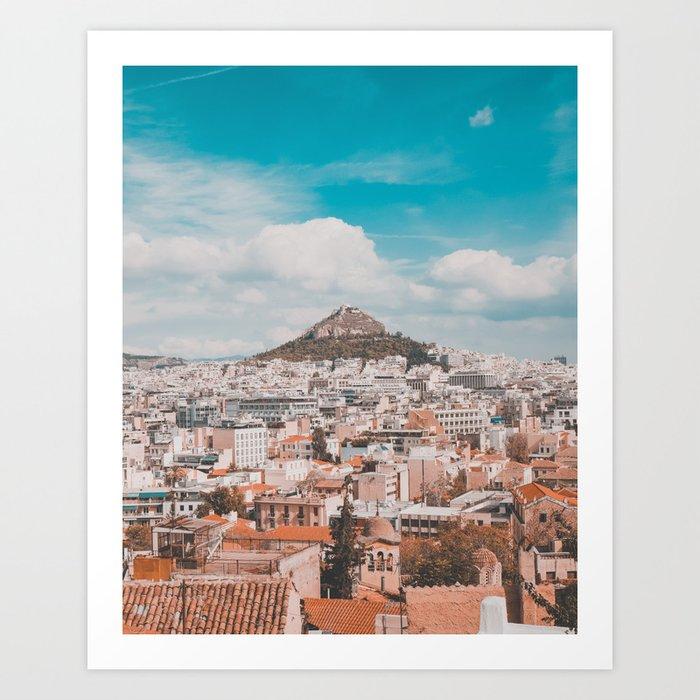 Acropolis in Athens Fine Art Print Art Print