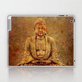 Sand Stone Sitting Buddha Laptop & iPad Skin