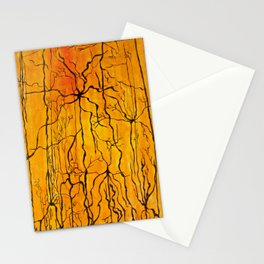 Neural Activity (An Ode to Cajal) Stationery Cards