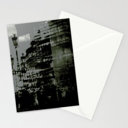 1st arrondissement-gray Stationery Cards