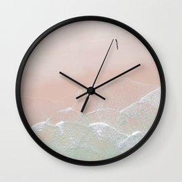 Ocean Walk II Wall Clock