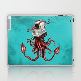 Squid with Diving Helmet Laptop & iPad Skin