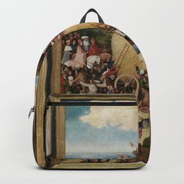 Hieronymus Bosch - The Haywain Triptych Backpack