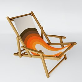 Golden Rainbow Sling Chair