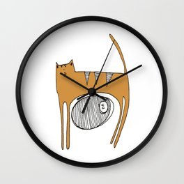 catlove Wall Clock