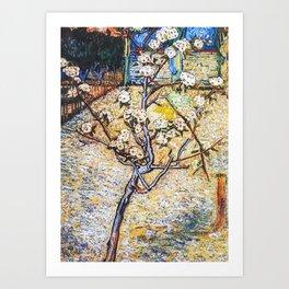 Van Gogh Blossoming Tree Art Print