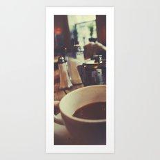 Tea at The Elephant House Art Print