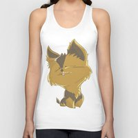 terrier Tank Tops featuring Terrier by thinkgabriel