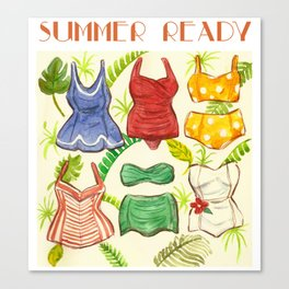 Summer Ready Canvas Print