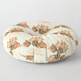 The 3 Little Pigs Dreamers Floor Pillow