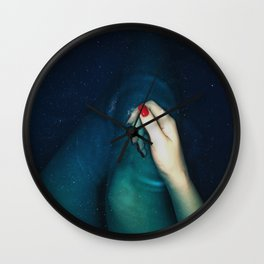 Swimming in the stars Wall Clock