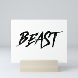 BEAST Mini Art Print