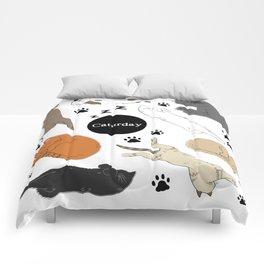 Caturday Comforters