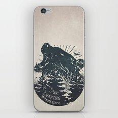 Craving wanderlust II iPhone & iPod Skin