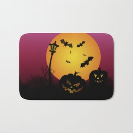 Spooky Halloween 6 Bath Mat