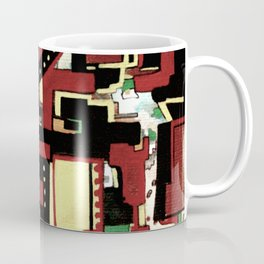 Square Jungle Coffee Mug