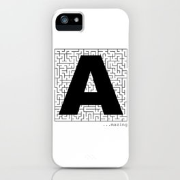 A-Maze-ing iPhone Case