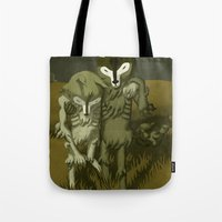 blues brothers Tote Bags featuring BROTHERS by Kyle Meyerdierks