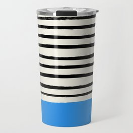 Ocean x Stripes Travel Mug