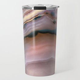 Pink and Blue agate 0425 Travel Mug
