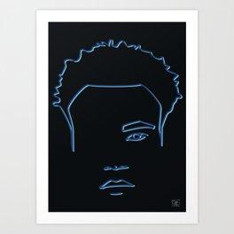 Childish Gambino - Awaken, My Love  palette Art Print