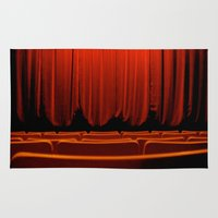 theatre Area & Throw Rugs featuring Classic Theatre by creations by Cinnamon